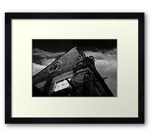 Newtown Ruin Framed Print