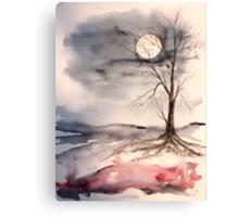 Moon Light Canvas Print