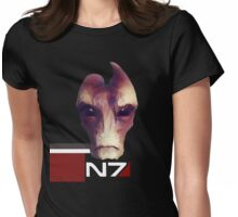 Dr. Mordin Solus  Womens Fitted T-Shirt