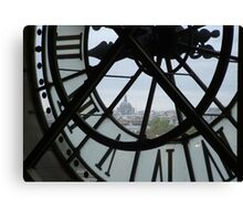 View From a Clocktower  Canvas Print
