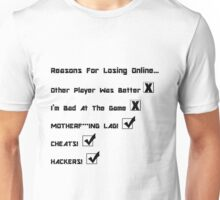 Online Gaming  Unisex T-Shirt