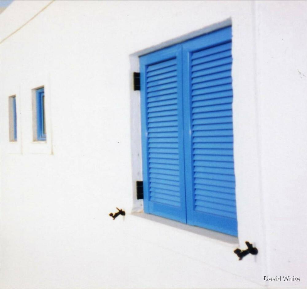 Cretan Blue by David White