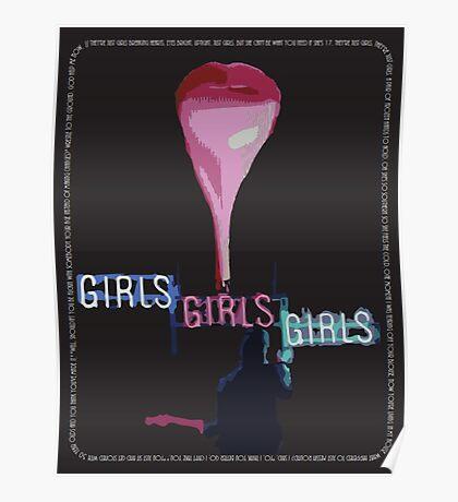 The 1975 Girls Artwork Poster