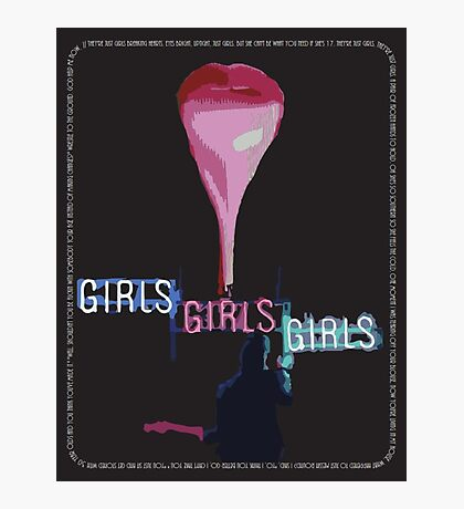 The 1975 Girls Artwork Photographic Print