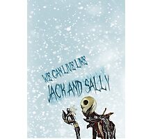 Jack, the nightmare before christmas Photographic Print