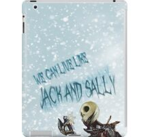 Jack, the nightmare before christmas iPad Case/Skin