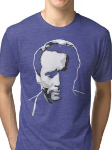 The Prisoner - Number Six - Patrick McGoohan Tri-blend T-Shirt