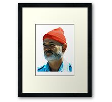 Steve Zissou - Bill Murray  Framed Print