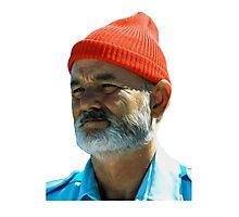 Steve Zissou - Bill Murray  Photographic Print