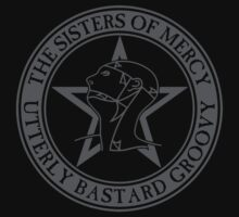 The Sisters of Mercy - The World's End - Utterly Bastard Groovy by createdezign