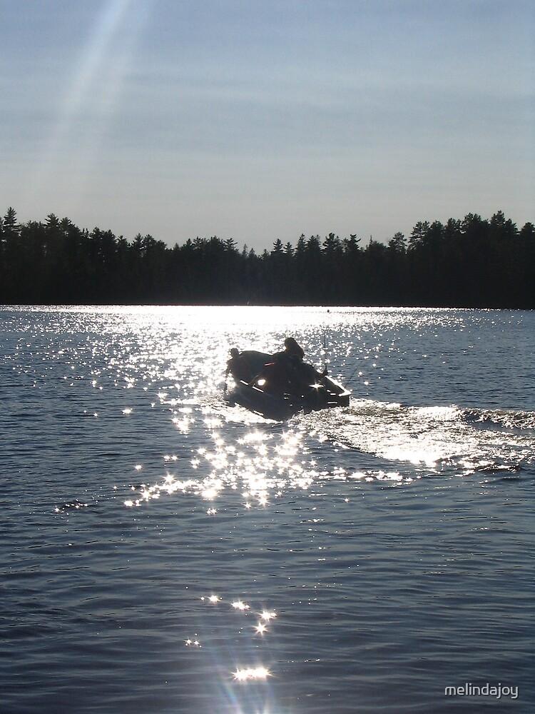 Fishing at Dusk by melindajoy