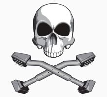 Flooring Skull: Carpet installer by dxf1969