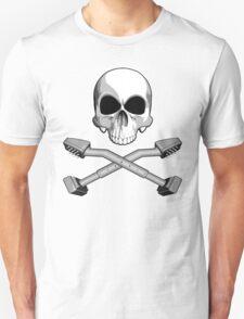 Flooring Skull: Carpet installer T-Shirt
