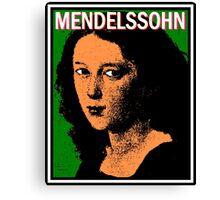 Mendelssohn Bartholdy Canvas Print