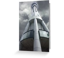 Skytower, Auckland NZ Greeting Card