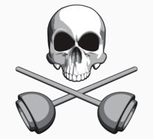Skull and Plungers by dxf1969