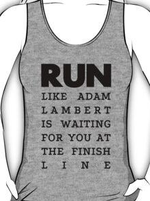 RUN -  Adam Lambert T-Shirt