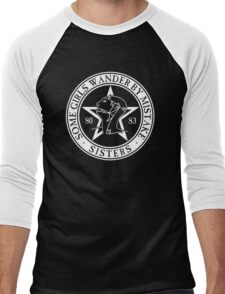 The Sisters of Mercy - The World's End - Some Girls Wander by Mistake Men's Baseball ¾ T-Shirt