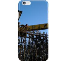 Welcome To Harlands iPhone Case/Skin