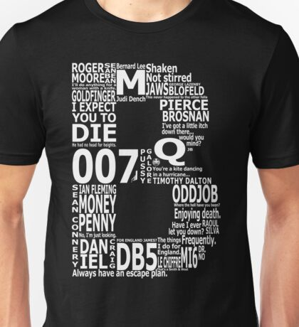 B is for Bond Unisex T-Shirt