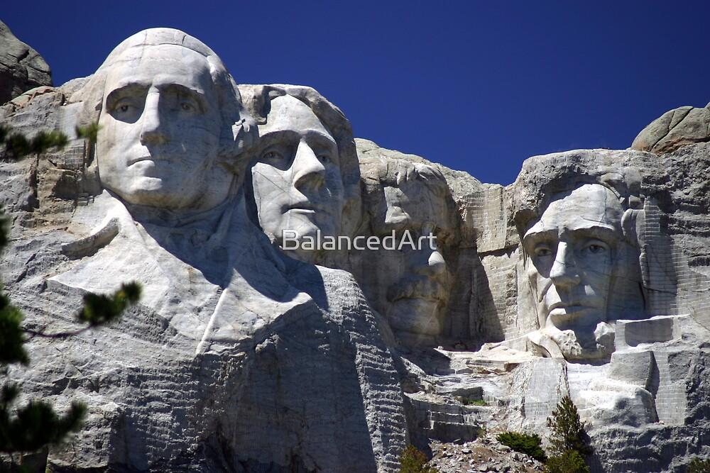 Mt. Rushmore by BalancedArt