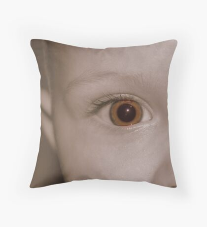 A New World to See Throw Pillow
