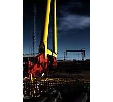 Harland & Wolff Close-up Photographic Print
