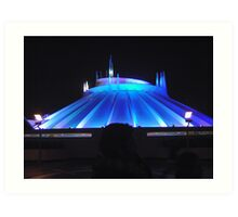 Space Mountain but different Art Print