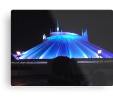 Space Mountain but different Metal Print