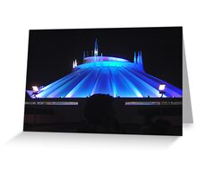 Space Mountain but different Greeting Card
