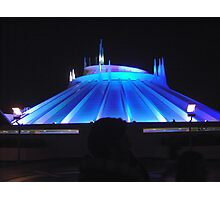 Space Mountain but different Photographic Print