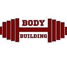 bodybuilder, bodybuilding, fitness, workout, beast, power muscle, train Photographic Print