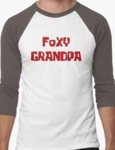 FOXY GRANDPA Men's Baseball ¾ T-Shirt