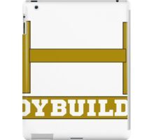 bodybuilder, bodybuilding, fitness, workout, beast, power muscle, train iPad Case/Skin