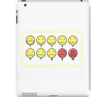 """How would you rate your pain?"" iPad Case/Skin"