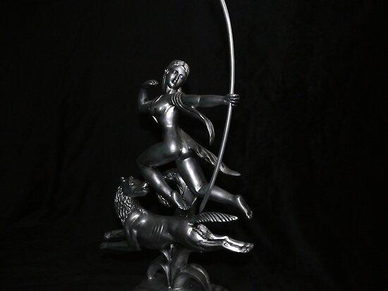 Hunting by Moonlight by Sandra Chung