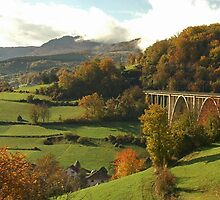 Railway Bridge, Bosnia by KylieForster