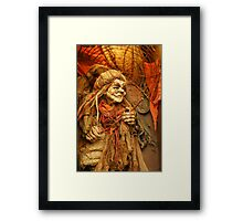 Witch! Framed Print