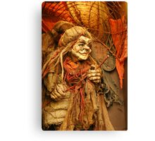 Witch! Canvas Print