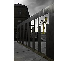Titanic Museum Ironwork Photographic Print