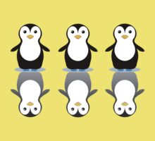 THREE PENGUINS ON ICE Kids Clothes
