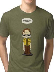 Dwight False Cartoon Tri-blend T-Shirt