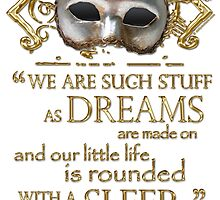 Shakespeare The Tempest Dreams Quote by Sally McLean