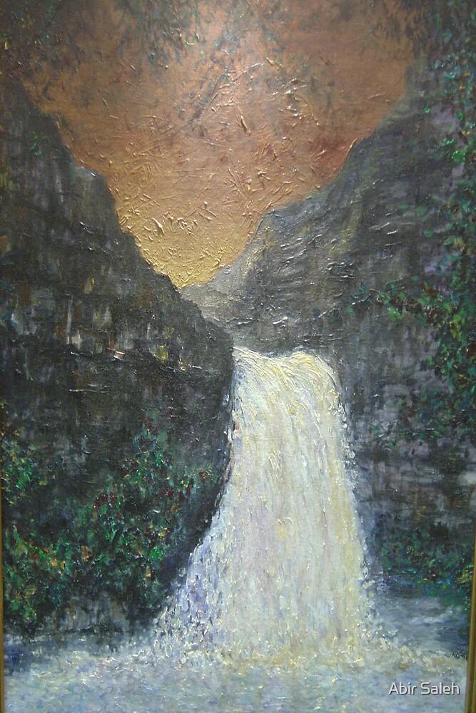 Dreamy waterfall by Abir Saleh