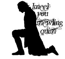 Kneel you mewling quim - Loki by mad-cow