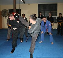 Gold Belt Grading Wing Chun Kung Fu by Imprint