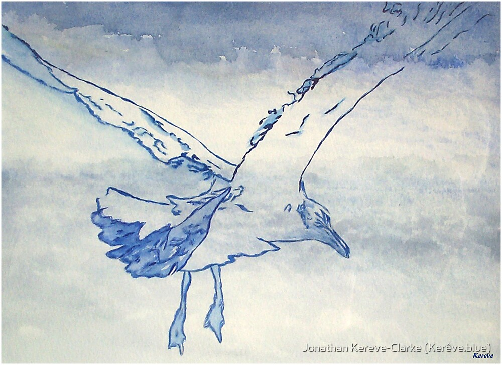 Flight by Jonathan Kereve-Clarke (Kerêve.blue)