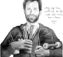 """Mark Gonzales - The Gonz - """"My Age has Nuthin to do with How Much Fun I have"""" by Derek Michael Brennan"""