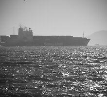 Hapaq Lloyd Freight-carrying boat by Alfredo Juarez