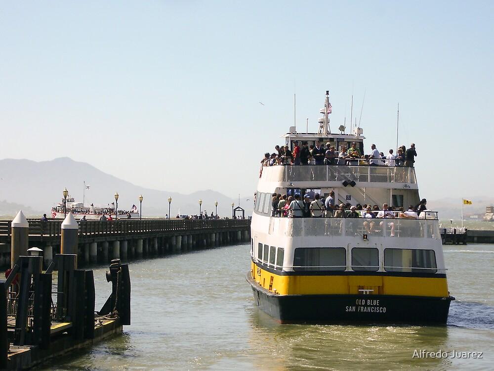 Going to Alcatraz by Alfredo Juarez